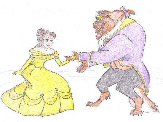 Beauty and the Beast par Sofya